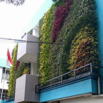 jasa pembuatan vertical garden semarang