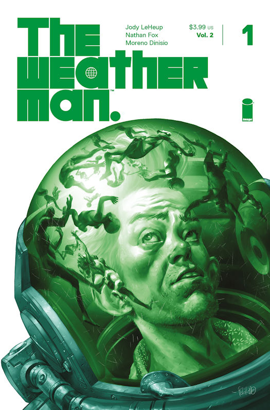 The Weatherman, Vol. 2 # 1 - Duncan Fegredo Cover