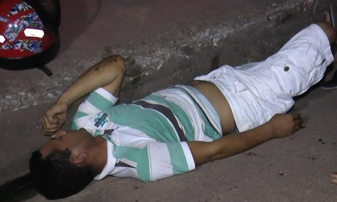 ITAITUBA/PA: ACIDENTE NA TREZE DE MAIO DEIXA TRÊS VITIMAS AO SOLO.