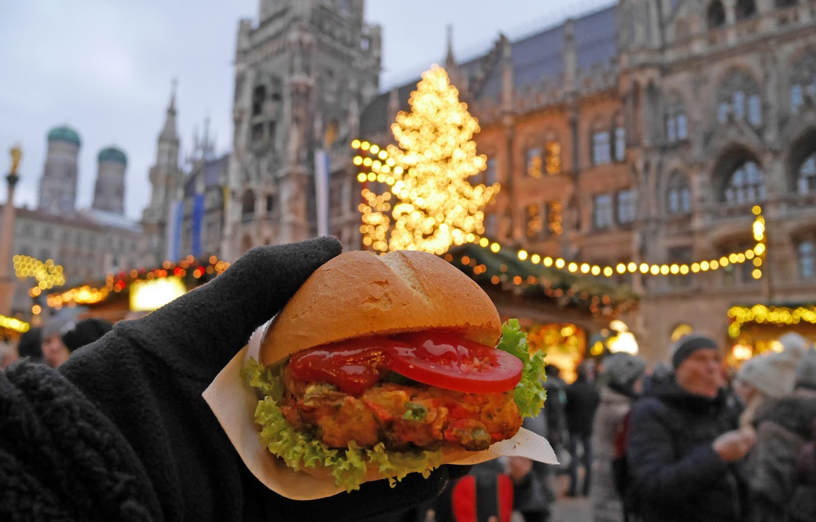 Dinner at the Munich Christmas Markets