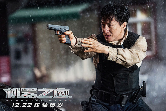 Sinopsis Film Bleeding Steel (2017) Pemain Jackie Chan