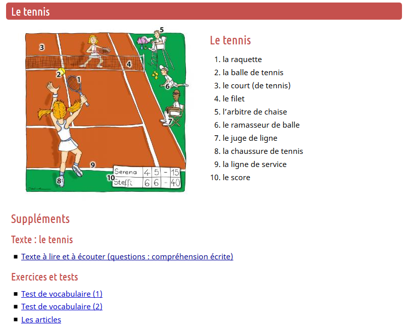 https://francais.lingolia.com/fr/vocabulaire/sport/tennis
