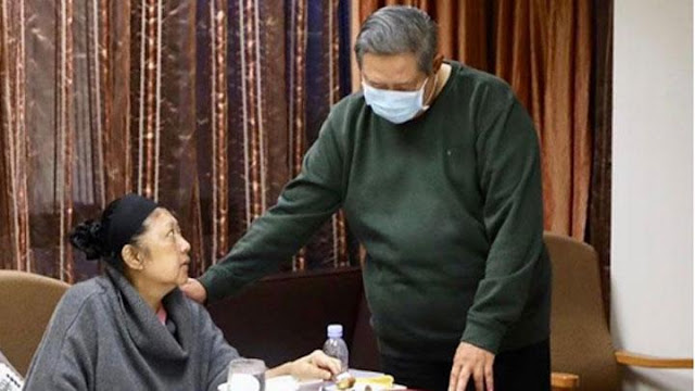Tiap Kali Menolak Makan, Ani Yudhoyono Disemangati SBY