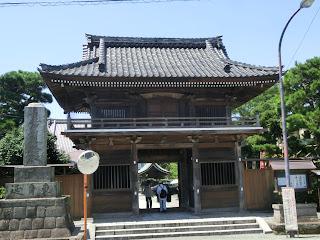 本覚寺仁王門