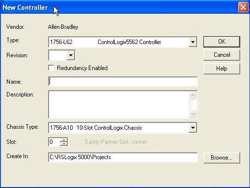 How to program an Allen Bradley PLC: Initiate a Program on