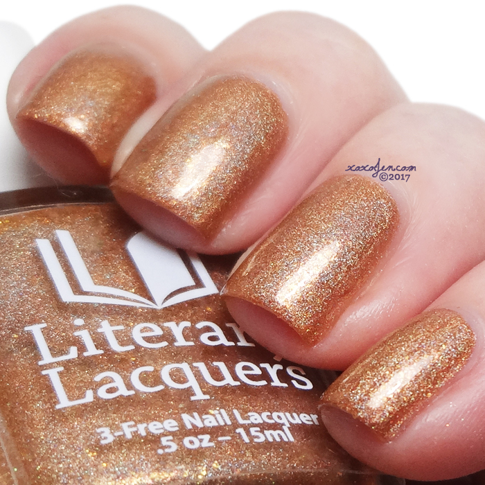 xoxoJen's swatch of Literary Lacquers Amortentia