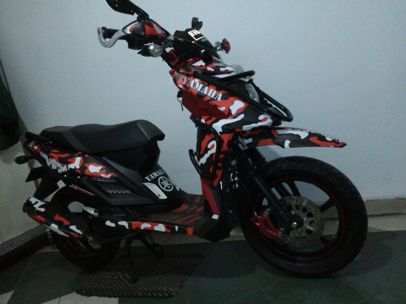 ide modifikasi yamaha x ride touring