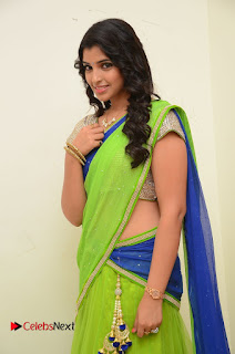 Anchor Sayamala Pictures in Saree at Jakkanna Movie Audio Launch  0017.JPG