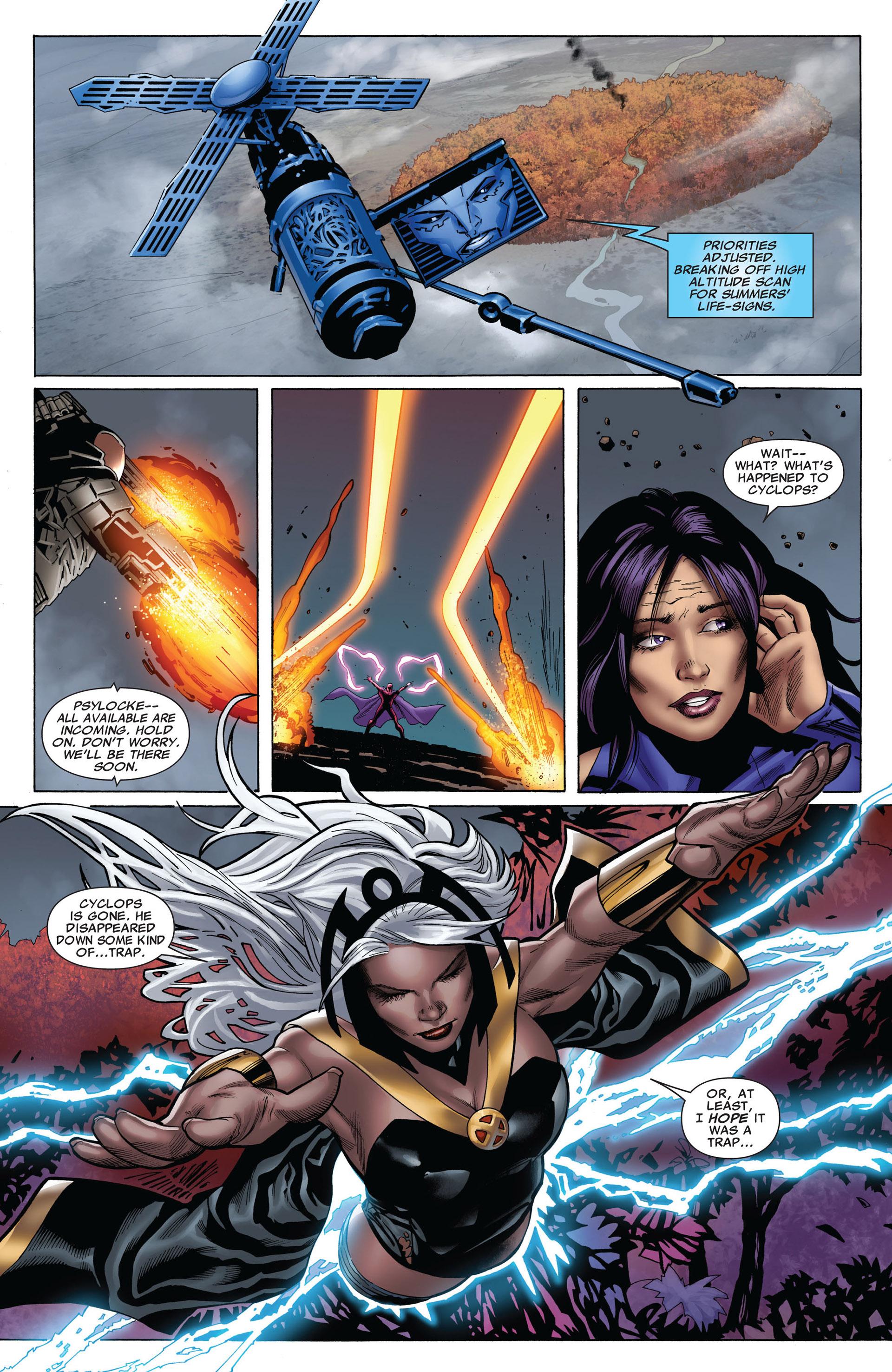 Read online Uncanny X-Men (2012) comic -  Issue #6 - 7