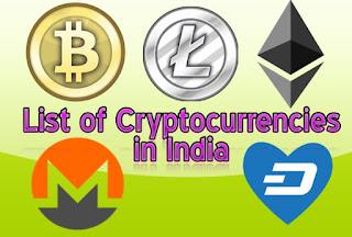 Top 10 List of Cryptocurrencies
