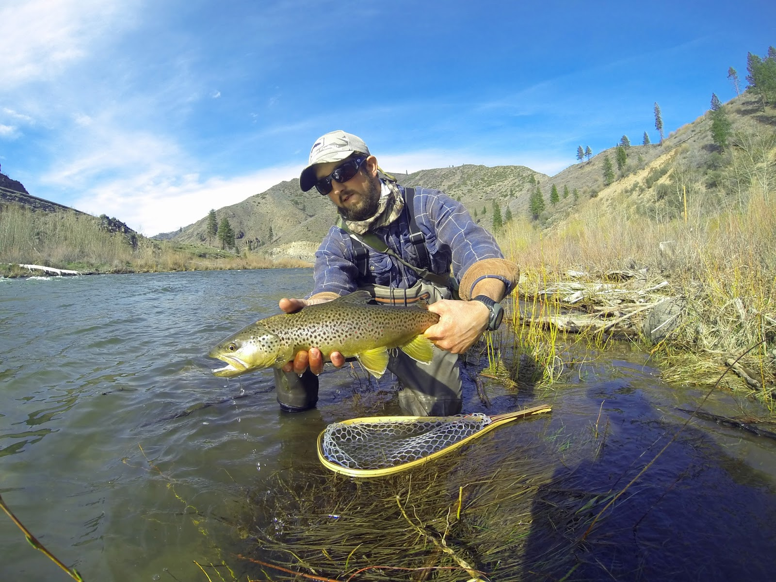 Jon baiocchi fly fishing news northern sierra fishing for Truckee river fishing report