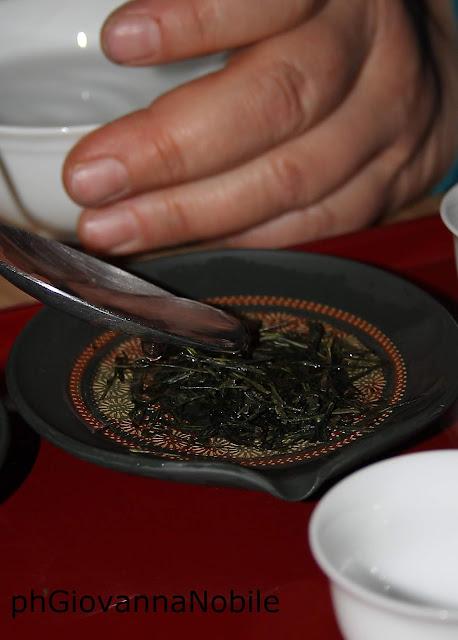 Degustazione di rari tè giapponesi