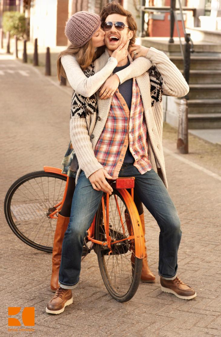 Casey Taylor In Dolce Gabbana: KULT Model Agency: Casey Taylor For BOSS ORANGE F/W 2012