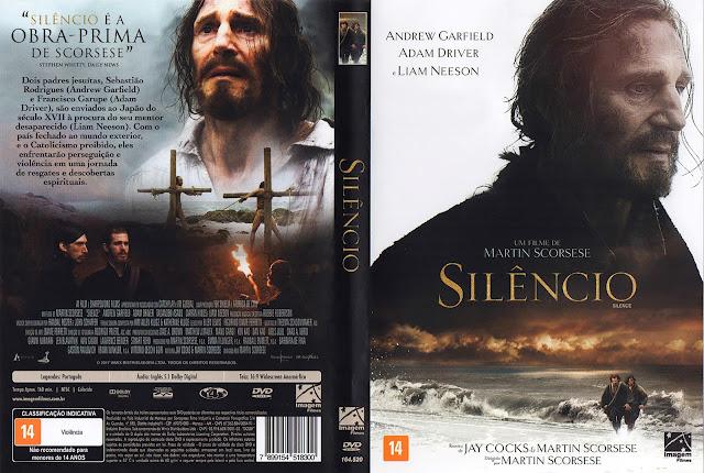 Capa DVD Silêncio (Oficial)