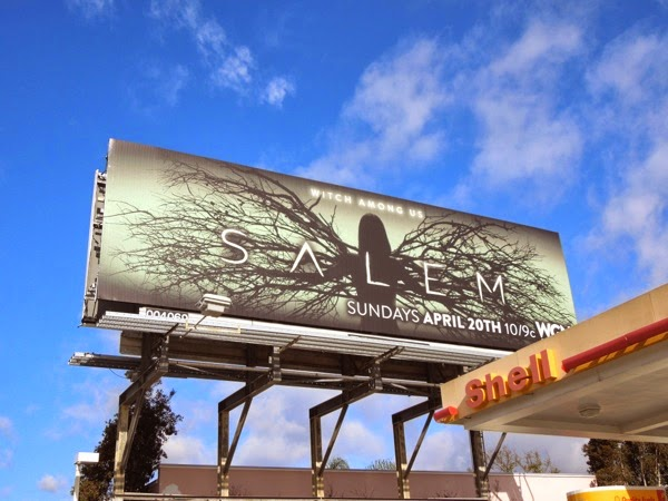 Salem series premiere WGN America billboard