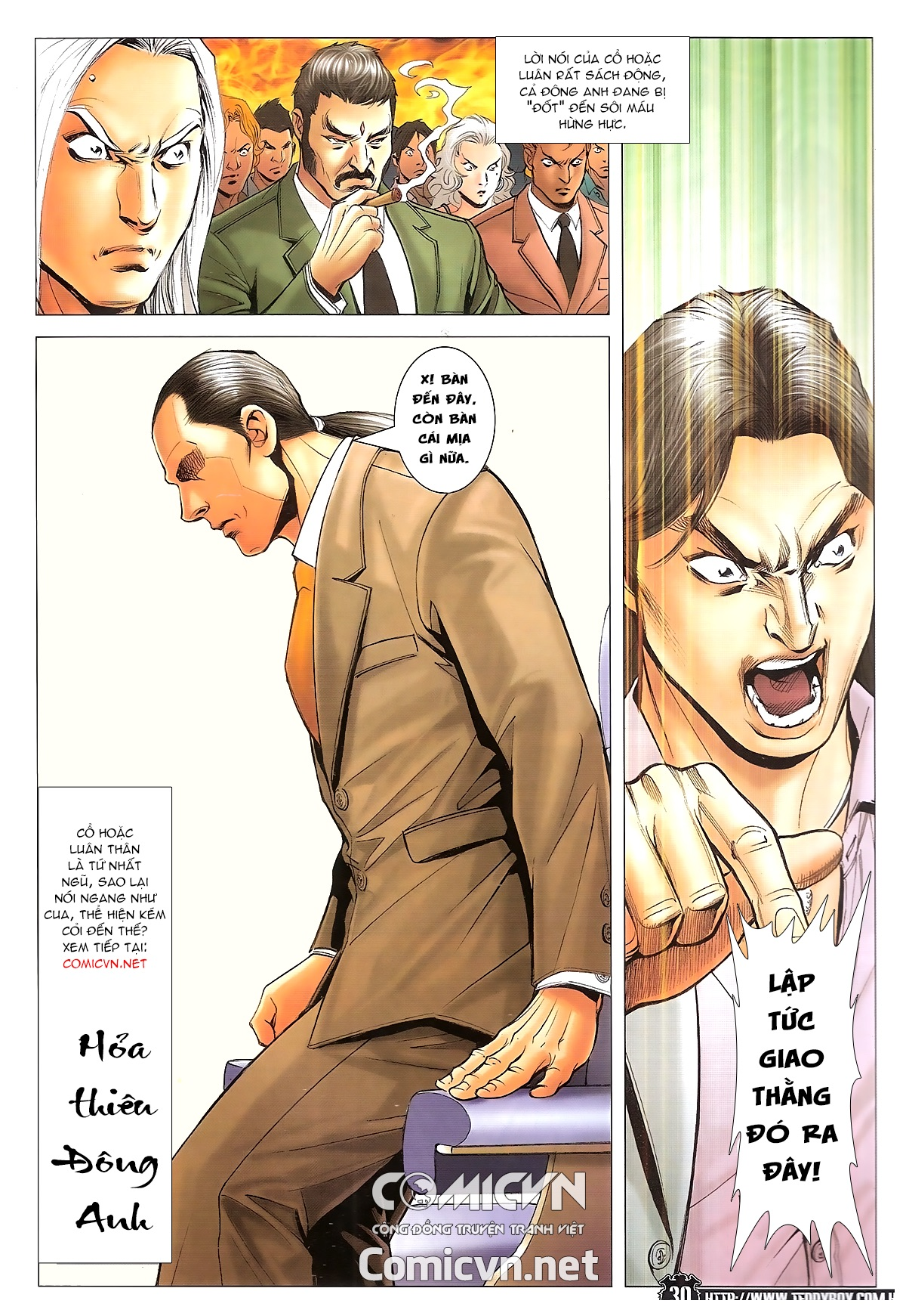 Người Trong Giang Hồ - Ngũ Hổ qui thiên - Chapter 1718: Đàm phán siêu cấp 4 - Pic 26