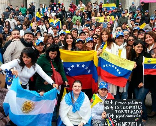 30 venezolanos por día se radicaron en la Argentina en 2016
