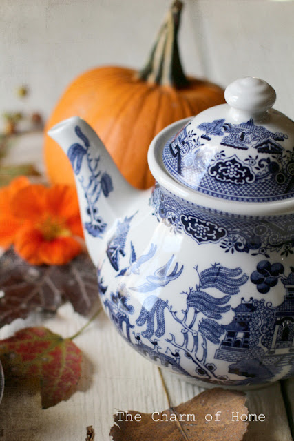 October Tea/Garden Journal: The Charm of Home