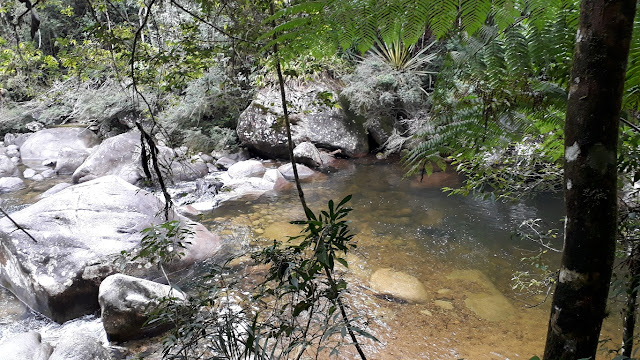 Lago Azul do Parque Nacional de Itatiaia