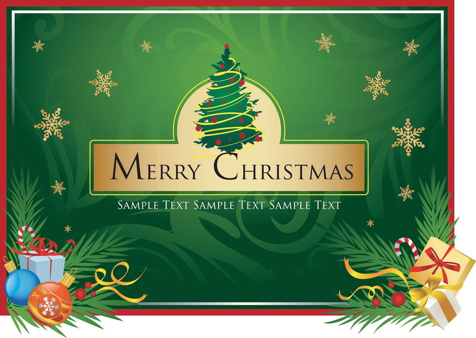 iSeng Desain's: Template Kartu Ucapan Natal 2012