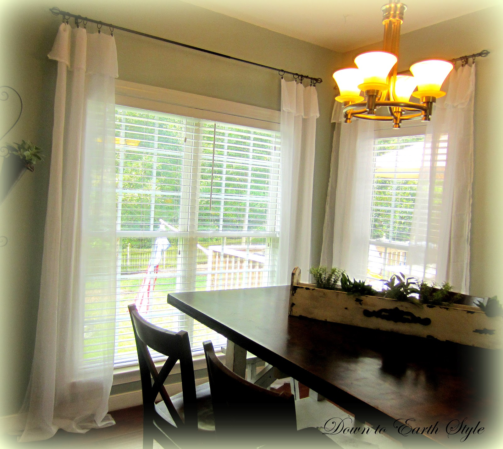 White Flowing Curtains Down To Earth Style White Flowing Curtains  Easy And Cheap
