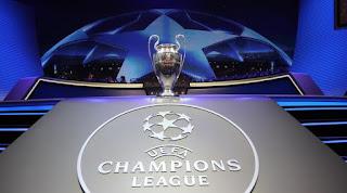 Ilustrasi logo Liga Champions. /Foto/AFP