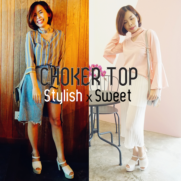 Choker Top Fashion StylishxSweet Weekend Outfit #23