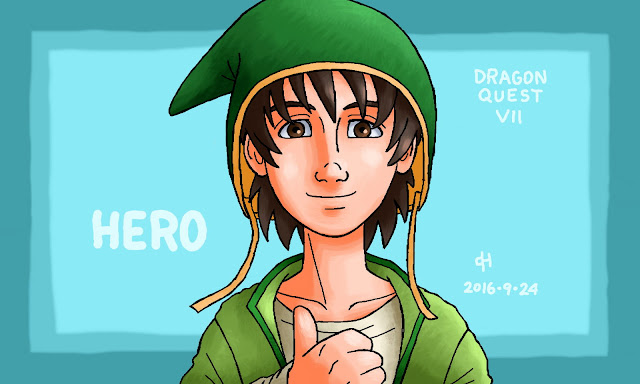 Dragon Quest, Hero