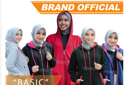 Hijacket Basic Original Premium 24 Pilihan Warna Ukuran M Fit L, XL dan XXL Tema Design Simple