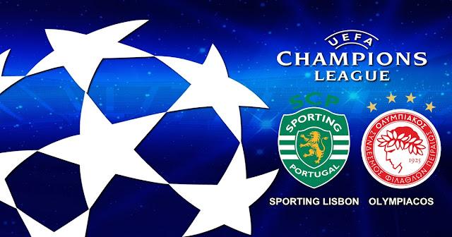 Sporting Lisbon vs Olympiacos 2# November 2017