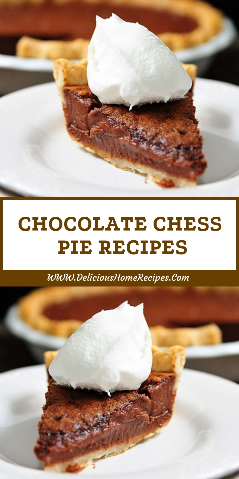 Chocolate Chess Pie Recipes