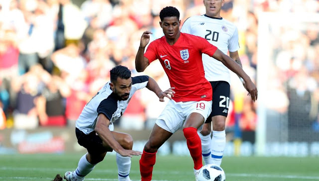 England: Rashford still on the flank