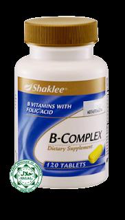 B-Complex Shaklee - 120 pills bottle
