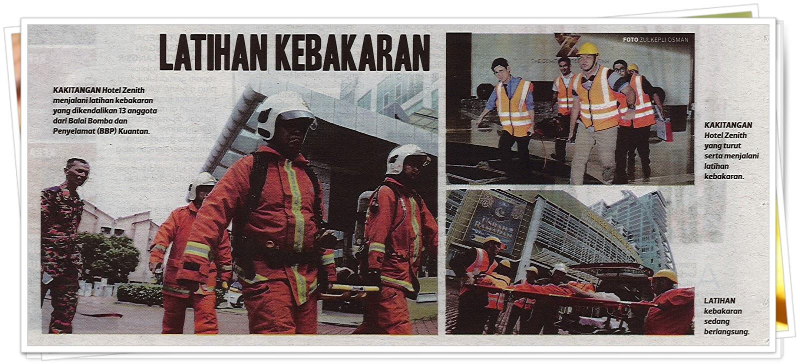 Lensa kamera - Keratan akhbar Harian Metro 7 Mei 2019