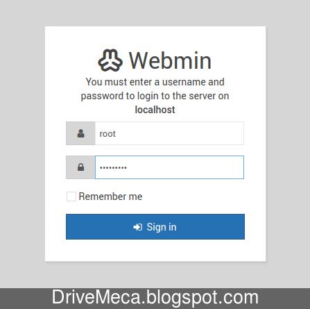 Ingresamos a Webmin via https