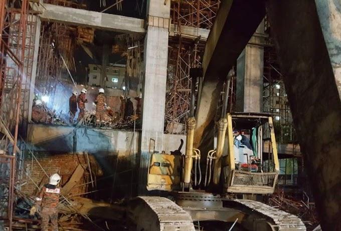 Runtuhan Tiada Kaitan Dengan Projek MRT #NegarakuMalaysia #JomNaikMRT