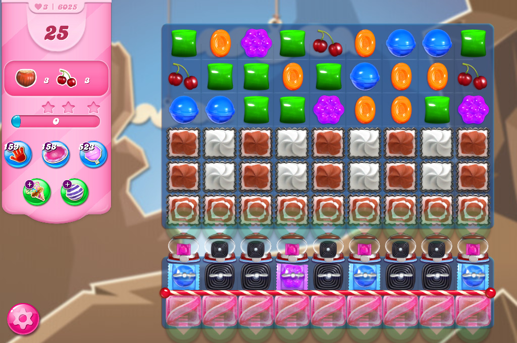 Candy Crush Saga level 6025