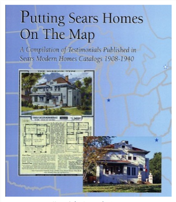 color photo of Putting Sears Homes On The Map--by Rebecca L. Hunter