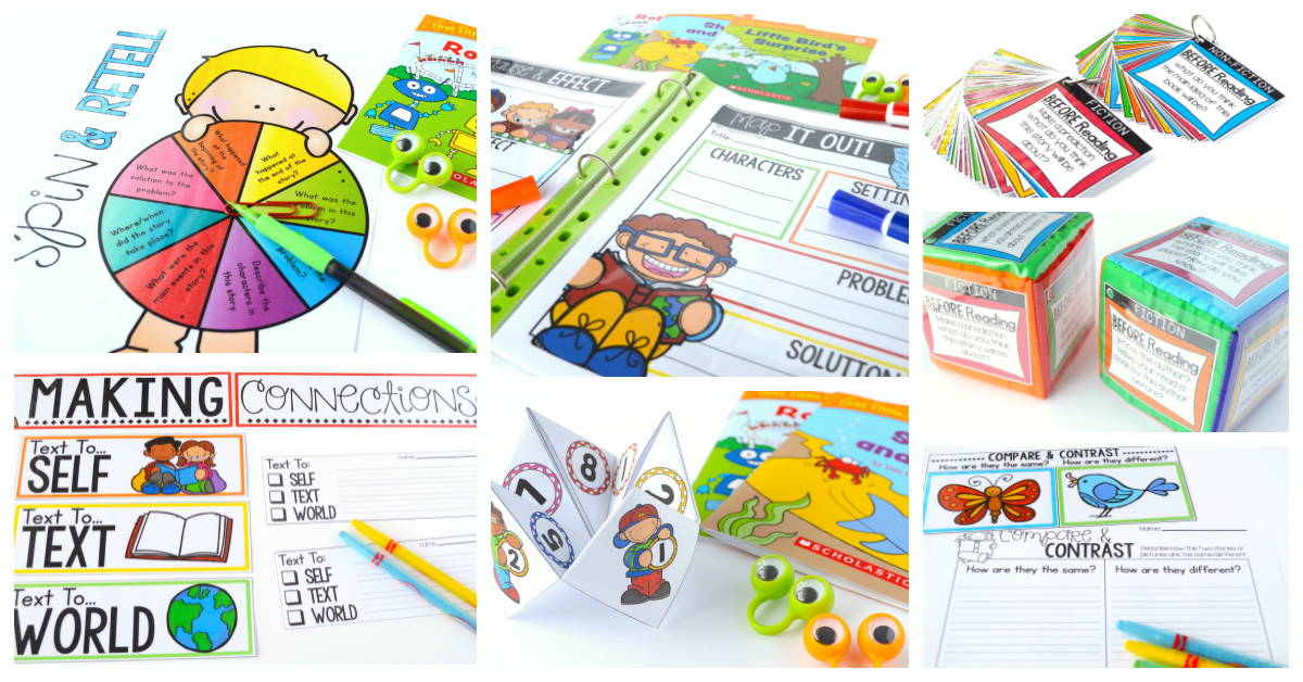 hands-on guided reading games