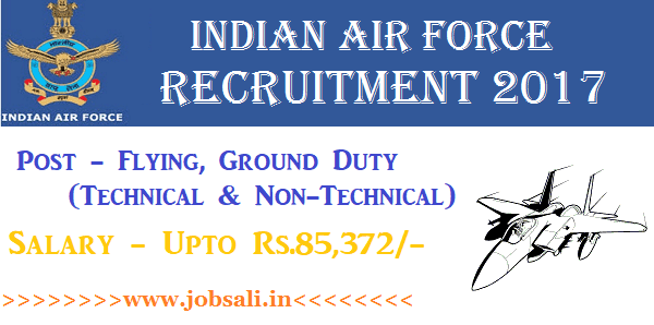 Join Indian Air force, Air Force Vacancy, Air Force jobs