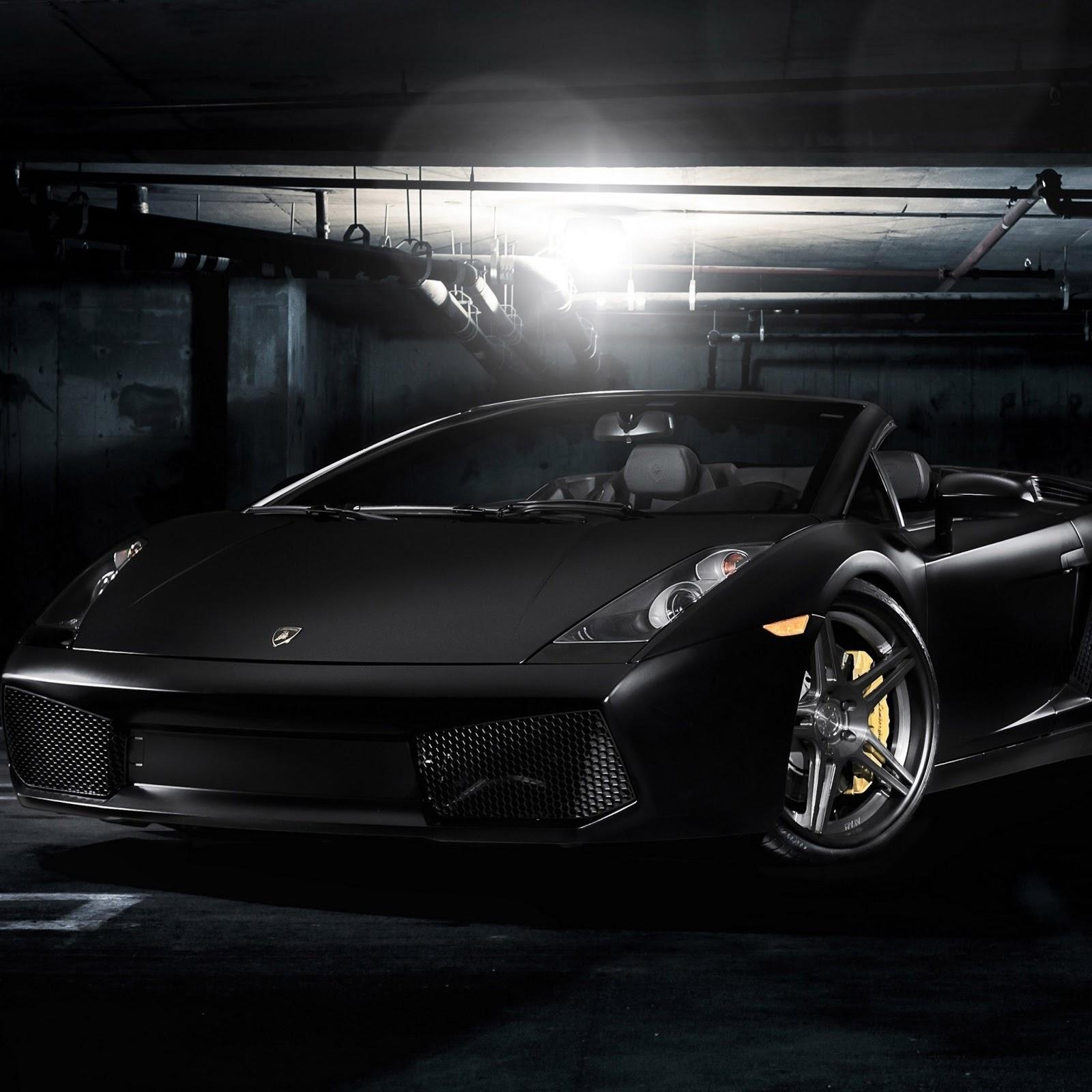 Luxury Lamborghini Cars: Black Lamborghini Murcielago ...