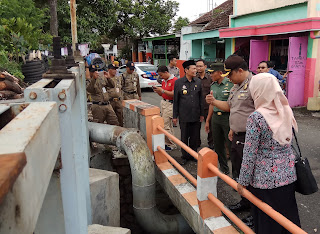 Sidak Siaga Bencana, Walikota Dapati Pompa Rusak