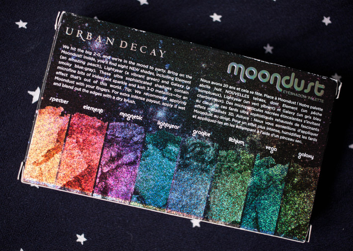 Beauty: Urban Decay Moondust palette review