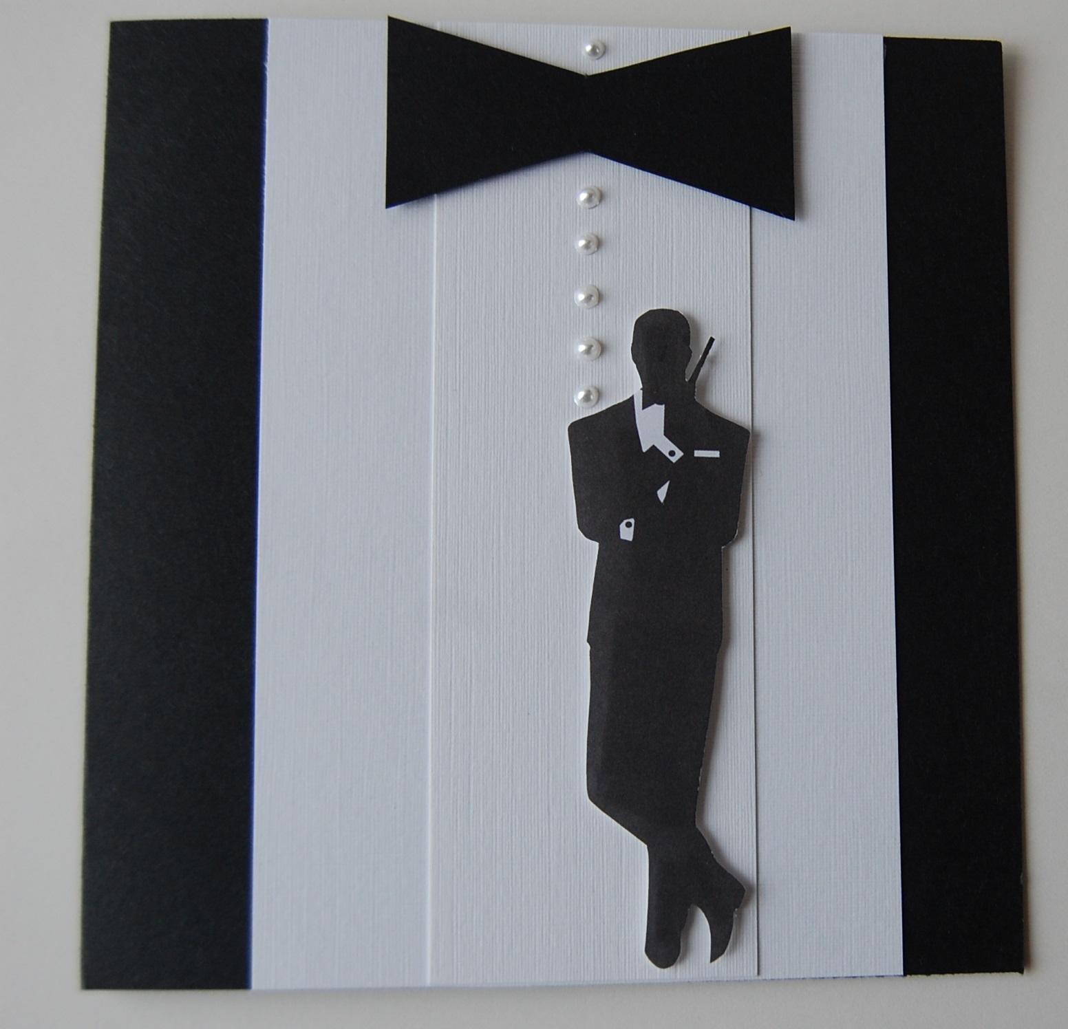 CraftyStamper Bond James Bond – James Bond Birthday Cards
