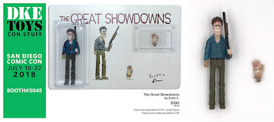San Diego Comic-Con 2018 Exclusive The Great Showdowns The Evil Dead II Resin Figure Set by Scott C x DKE Toys