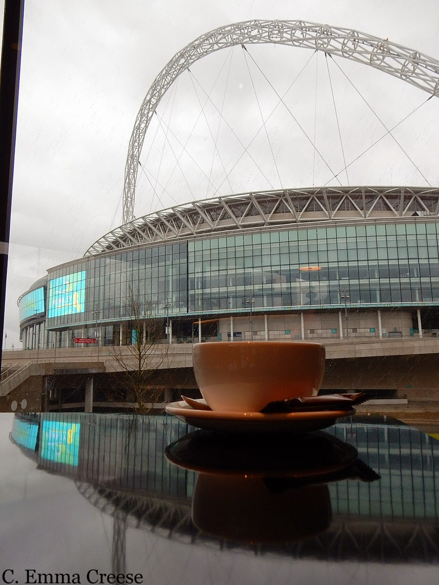 Wembley Stadium - Friday figments and photos - Adventures of a London Kiwi