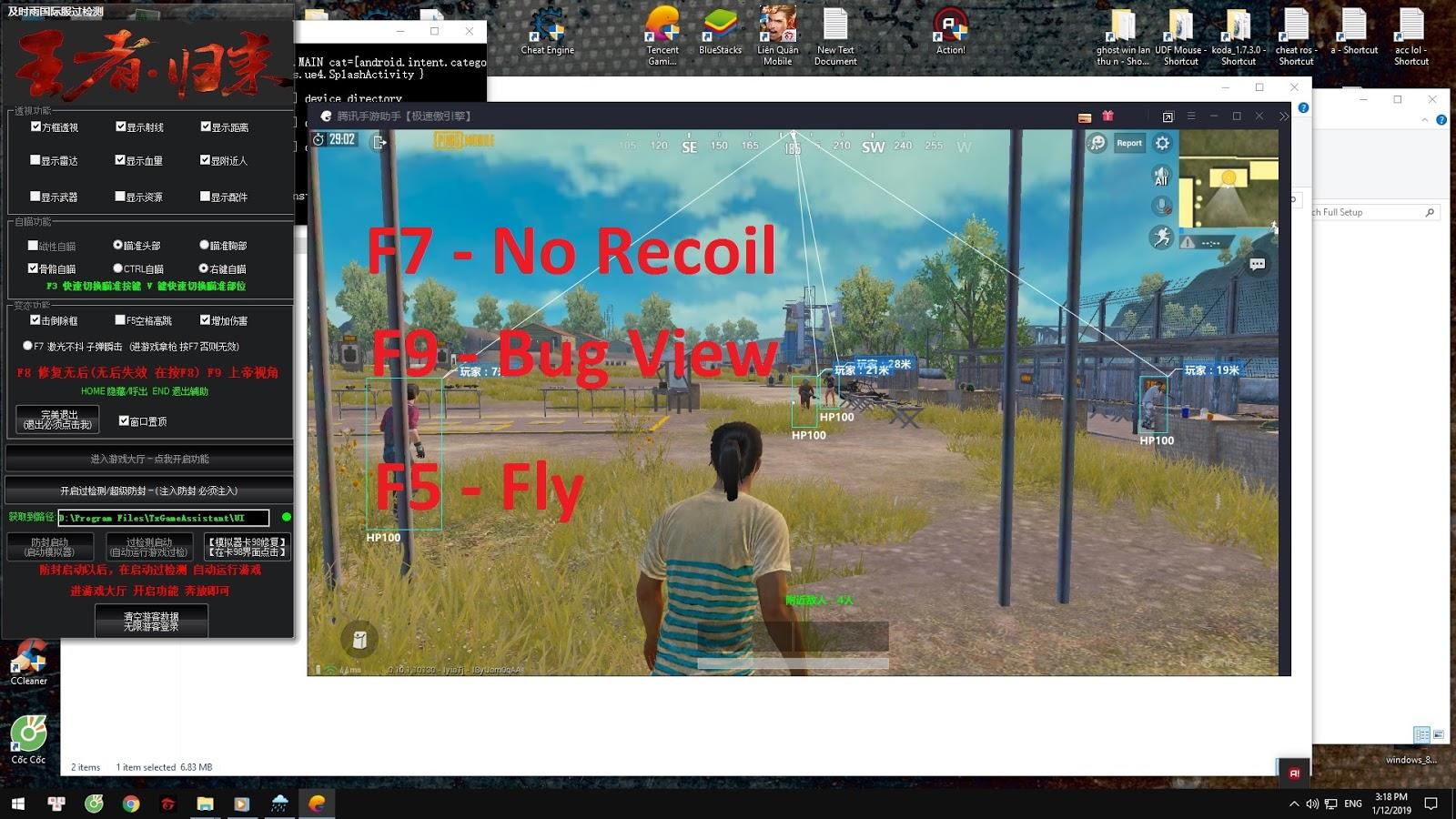 Hack Pubg Mobile Tencent Vip Crack Esp Fly Aimbot Bug View