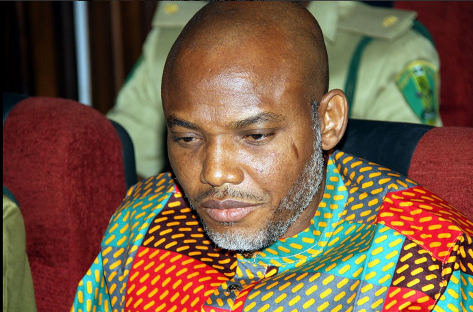 MUST READ!! NNAMDI KANU EXPLODES FROM PRISON – I AM BATTLING PHYSICAL AND SPIRITUAL FORCES TO GIVE UP BIAFRA