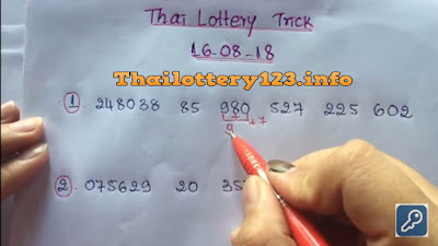Thai lottery single set trick sure set tip formula 16 August 2018