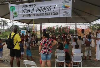 """Projeto """"VIVA A PRAÇA!"""": ocupar os espaços públicos com arte, cultura e cidadania"""